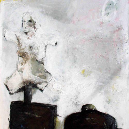 1043 BAHRAN HAJOU Artist SYRIA 90cmx100cm